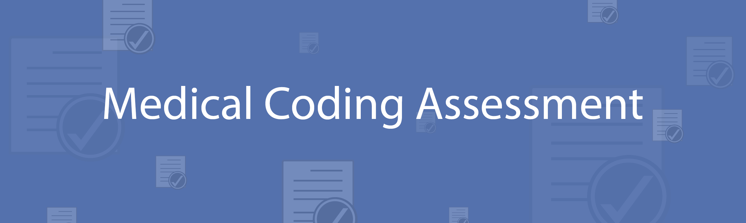 Medical Coding Assesment Test