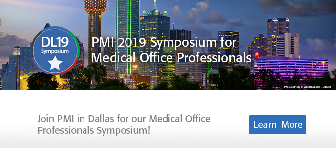 2019 Symposium for Medical Office Leaders:Dallas